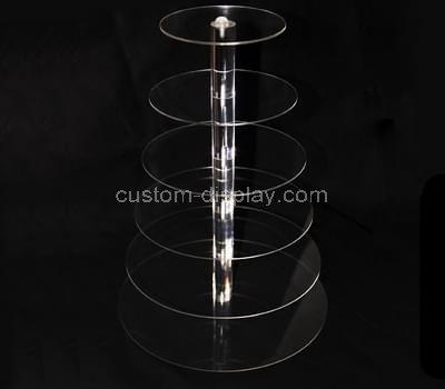 6 tier acrylic cupcake stand