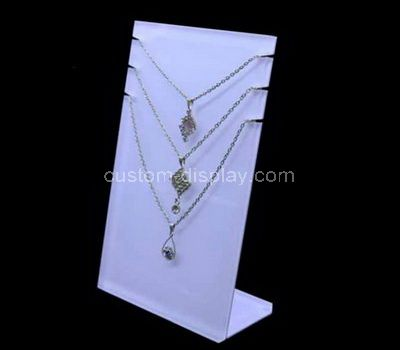 Standing necklace holder