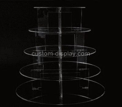 Acrylic cake display stand