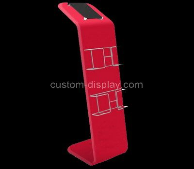 Acrylic floor display stands