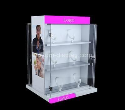 Plastic display cabinet