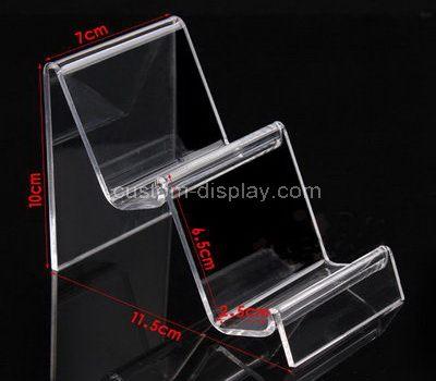 2 tier acrylic display