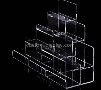 Tiered display rack