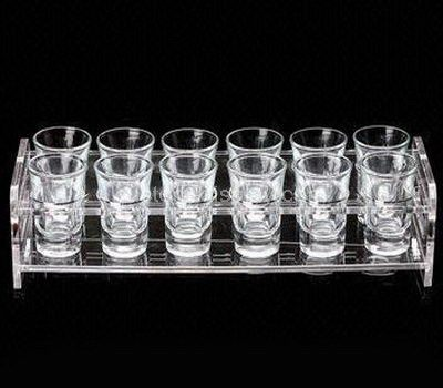 Plastic shot glass holder