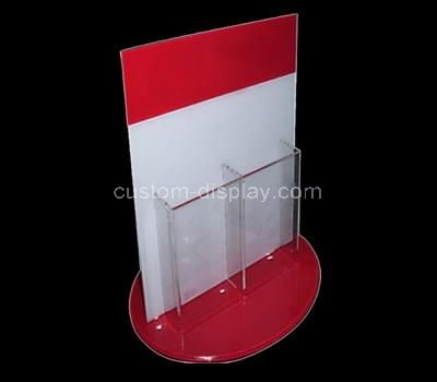 clear plastic display stand
