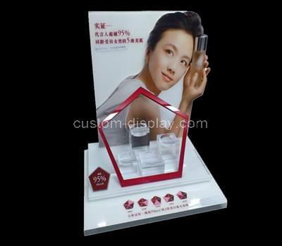 acrylic skincare display