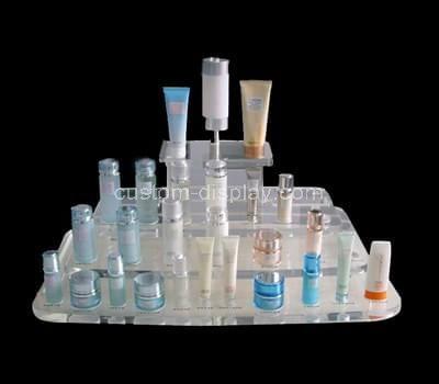 tiered acrylic makeup display