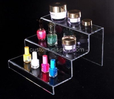 clear acrylic cosmetic display stands
