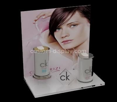 acrylic retail makeup display