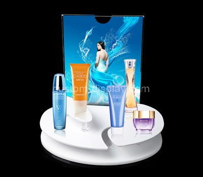 acrylic professional makeup display stands