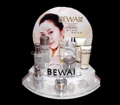 acrylic makeup counter display