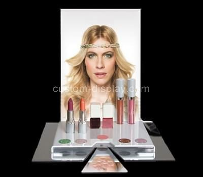 acrylic makeup retail display
