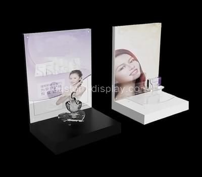 acrylic makeup stand display
