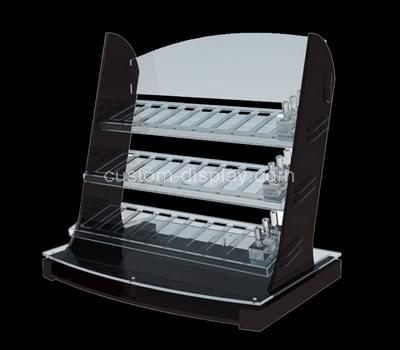 3 tiered acrylic cosmetic display
