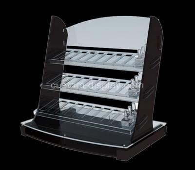 3 tiered acrylic cosmetic display