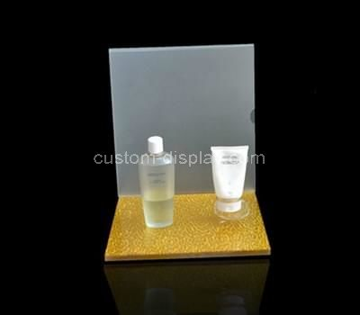 retail acrylic cosmetic display stand
