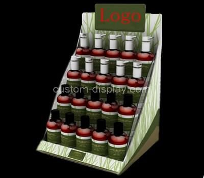 tiered cosmetic display racks