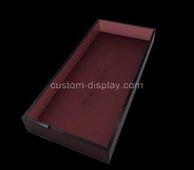 plastic rectangular tray