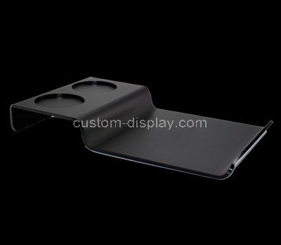 black lucite tray