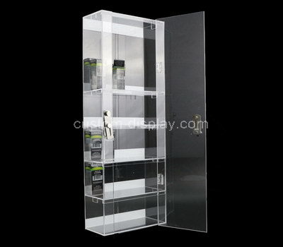 tall slim display cabinet