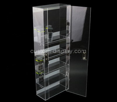 tall narrow display cabinet