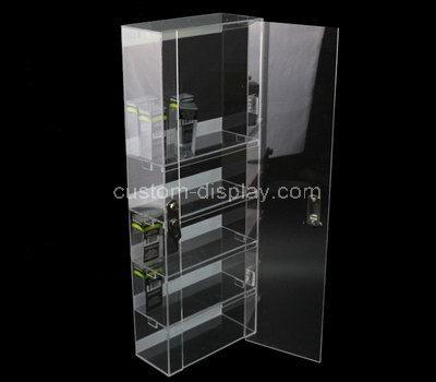 tall narrow display cabinet