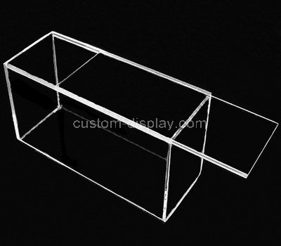 acrylic perspex box with lid
