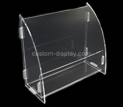 Clear acrylic retail display cases