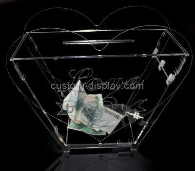 cash donation box