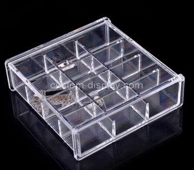 12 compartment plastic storage box