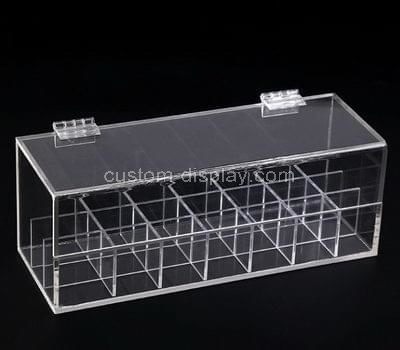 clear compartment storage box