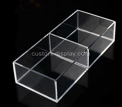 clear compartment box