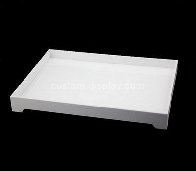 plastic serving trays and platters