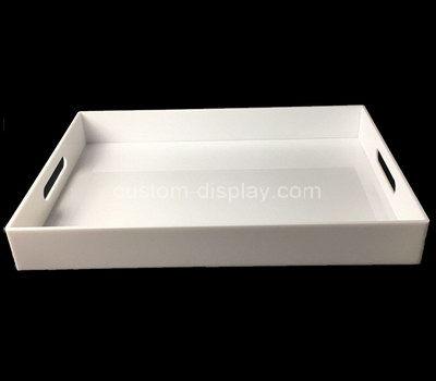 white acrylic serving tray