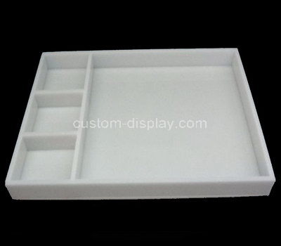 acrylic divided tray