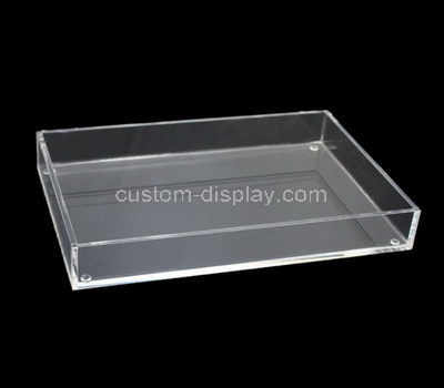 clear acrylic tray