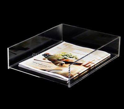 perspex paper tray