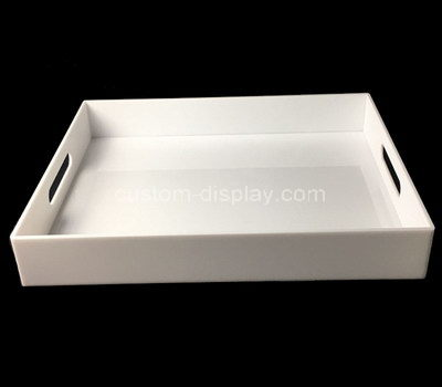 acrylic serving tray with handles