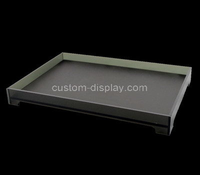 rectangular acrylic tray