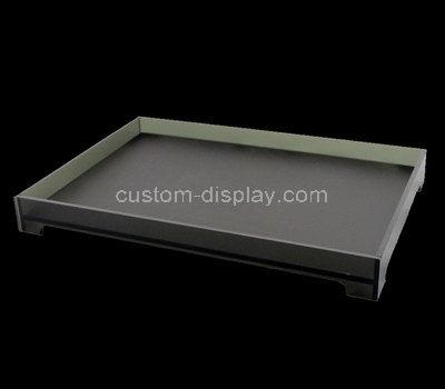 rectangular acrylic tray