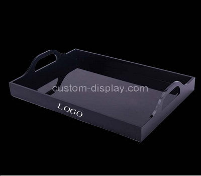 personalized lucite serving tray