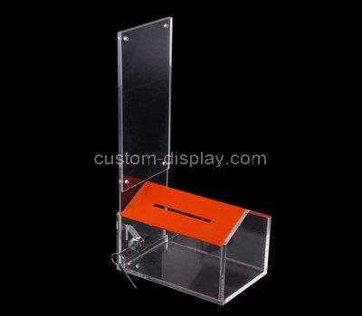 plastic donation box