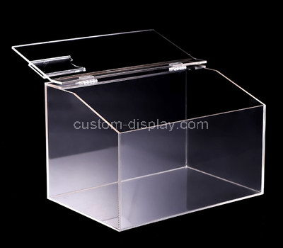 acrylic glass display case