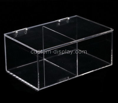 acrylic compartment box