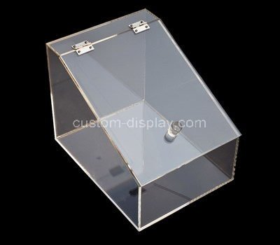 display case with storage