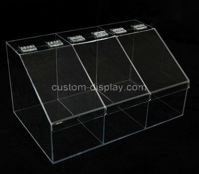 large plastic compartment box