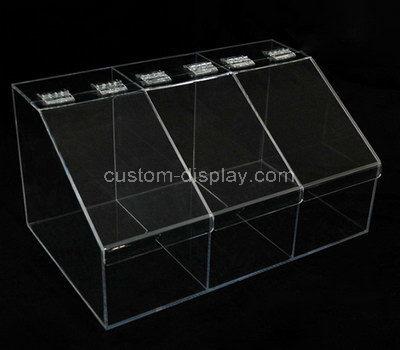 large plastic compartment box