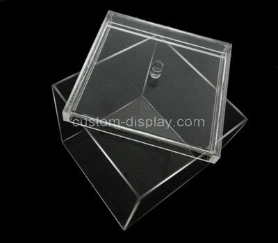 plastic box display case
