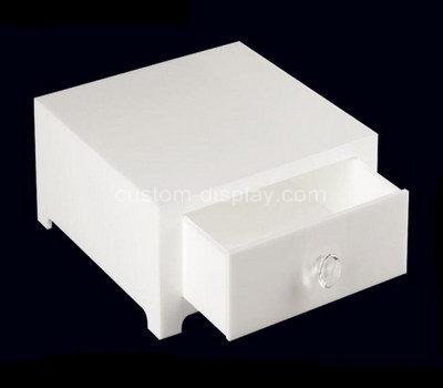 white drawer box