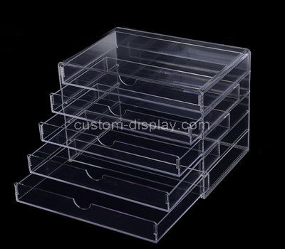 clear acrylic drawer organizer